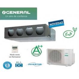 GENERAL/FUJITSU<br>CLASE ENERGETICA A+/ A<br>  3 Dormitorios > ACG 24K-KA  5.850 Frig/h………………1.850 €